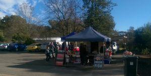 Fish & Veg stall