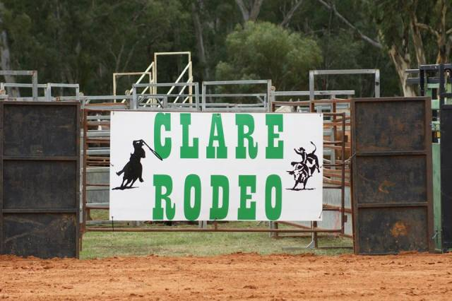 clare rodeo